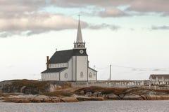 Die Schönheit von Neufundland-Newtown lizenzfreies stockfoto