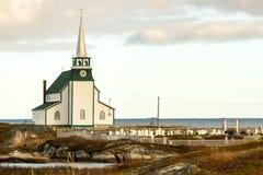 Die Schönheit von Neufundland-Newtown lizenzfreie stockbilder