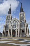 Die schönste katholische Kirche, Chanthaburi-Provinz, Thailand Stockfotos
