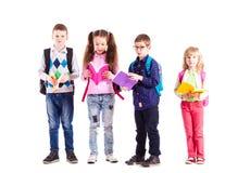 Die Schüler sind zur Schule bereit Lizenzfreies Stockbild