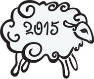 Die Schafe 2015 Lizenzfreie Stockfotos