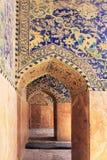 Die Schah-Moschee (Imam Mosque) auf Quadrat Naqsh-e Jahan in Isfahan-Stadt, der Iran lizenzfreie stockbilder