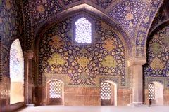 Die Schah-Moschee (Imam Mosque) auf Quadrat Naqsh-e Jahan in Isfahan-Stadt, der Iran lizenzfreies stockfoto