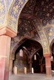 Die Schah-Moschee (Imam Mosque) auf Quadrat Naqsh-e Jahan in Isfahan-Stadt, der Iran stockbilder