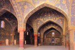Die Schah-Moschee (Imam Mosque) auf Quadrat Naqsh-e Jahan in Isfahan-Stadt, der Iran stockfoto