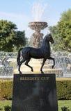 Die Schalen-Statue der Brüter Stockbild
