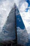 Die Scherbe, auch gekennzeichnet als die Glasscherbe, der Scherbe-London-Brücken-und früher London-Brücken-Turm, Lizenzfreies Stockfoto