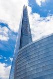 Die Scherbe - höchstes Gebäude in London stockbilder