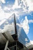 Die Scherbe in London mit schönem drastischem Himmel Lizenzfreie Stockfotos