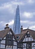 Die Scherbe vom Turm, London Lizenzfreie Stockfotos