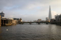 Die Scherbe von London lizenzfreies stockfoto
