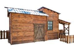 Die Scheune auf der Ranch stockbilder