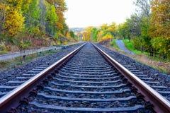 Die Schiene zu Saalfeld Lizenzfreie Stockfotografie