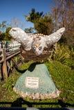Die Schildkrötenstatue, die aus Muscheln heraus gemacht wurde, nannte Mer Prinzessin durch artis lizenzfreies stockfoto