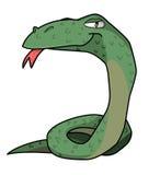 Die Schlange Stockfoto