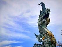 Die Schlange in Thailand stockfotografie