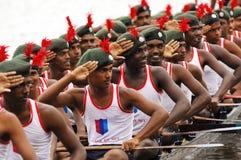 Die SchlangeRegatten von Kerala Lizenzfreie Stockbilder