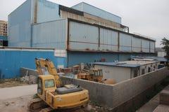 Die Schließung der Fabrik in SHENZHEN, CHINA Lizenzfreies Stockfoto