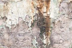 Die schmutzige Wand Stockfotografie