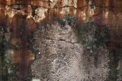 Die schmutzige Wand Lizenzfreie Stockbilder