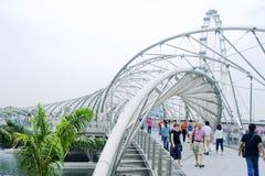 Die Schneckenbrücke Stockbild