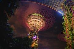 Die Schneckenbrücke, Singapur stockbilder