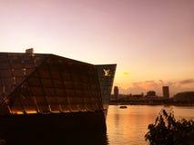 Die Schneckenbrücke, Singapur Lizenzfreie Stockfotografie