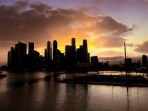 Die Schneckenbrücke, Singapur Stockfotos