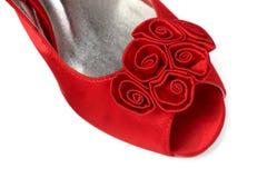 Die Schuhe der Frauen Stockbild