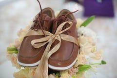 Die Schuhe der Männer Lizenzfreies Stockfoto