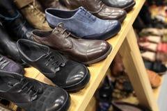 Die Schuhe der Männer Stockfoto