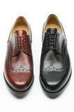 Die Schuhe der Männer Stockfotos