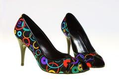 Die Schuhe des Frühlinges Stockfotos
