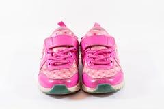 Die Schuhe des lokalisiertes Kindes Lizenzfreie Stockfotografie