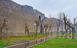 Die schwarze Festung Stockbild