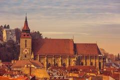 Die schwarze Kirche Stockbild
