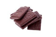 Die schwarze Schokolade Lizenzfreies Stockfoto