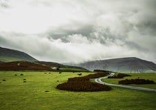 Die schwarzen Berge Stockfotografie