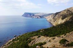 Die Schwarzes Meer `s Küste Stockfoto
