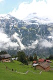 Die Schweiz-Alpen Stockfoto