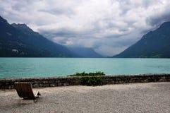 Die Schweiz, ein flüchtiger Blick von Brienz Lizenzfreies Stockfoto