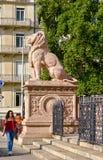 Die Schweiz Genf, das Brunswick Monument Lizenzfreies Stockfoto
