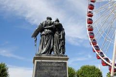 Die Schweiz Genf, das Nationaldenkmal Lizenzfreies Stockbild