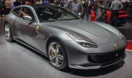 Die Schweiz; Genf; Am 10. März 2018; Ferrari GTC4 Lusso; Die 88. Internationale Automobilausstellung in Genf von 8. bis 18. von M stockfoto