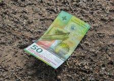 Die Schweiz; Genf; Am 9. März 2018; 50 Franken Banknote - vorderes s Lizenzfreie Stockbilder
