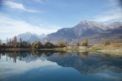 Die Schweiz-Gummilack Stockfotografie