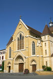 Die Schweiz-Kirche lizenzfreies stockbild