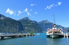 Die Schweiz-Landschaft lizenzfreie stockfotografie