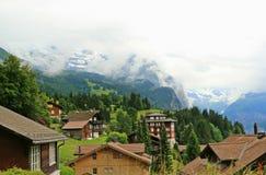 Die Schweiz-Landschaft stockfoto