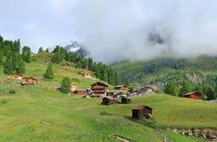 Die Schweiz-Landschaft lizenzfreies stockbild